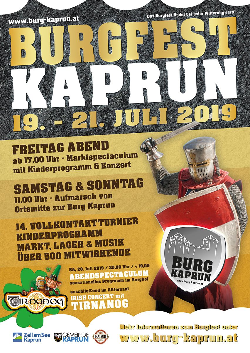 Burgfest Kaprun 2019
