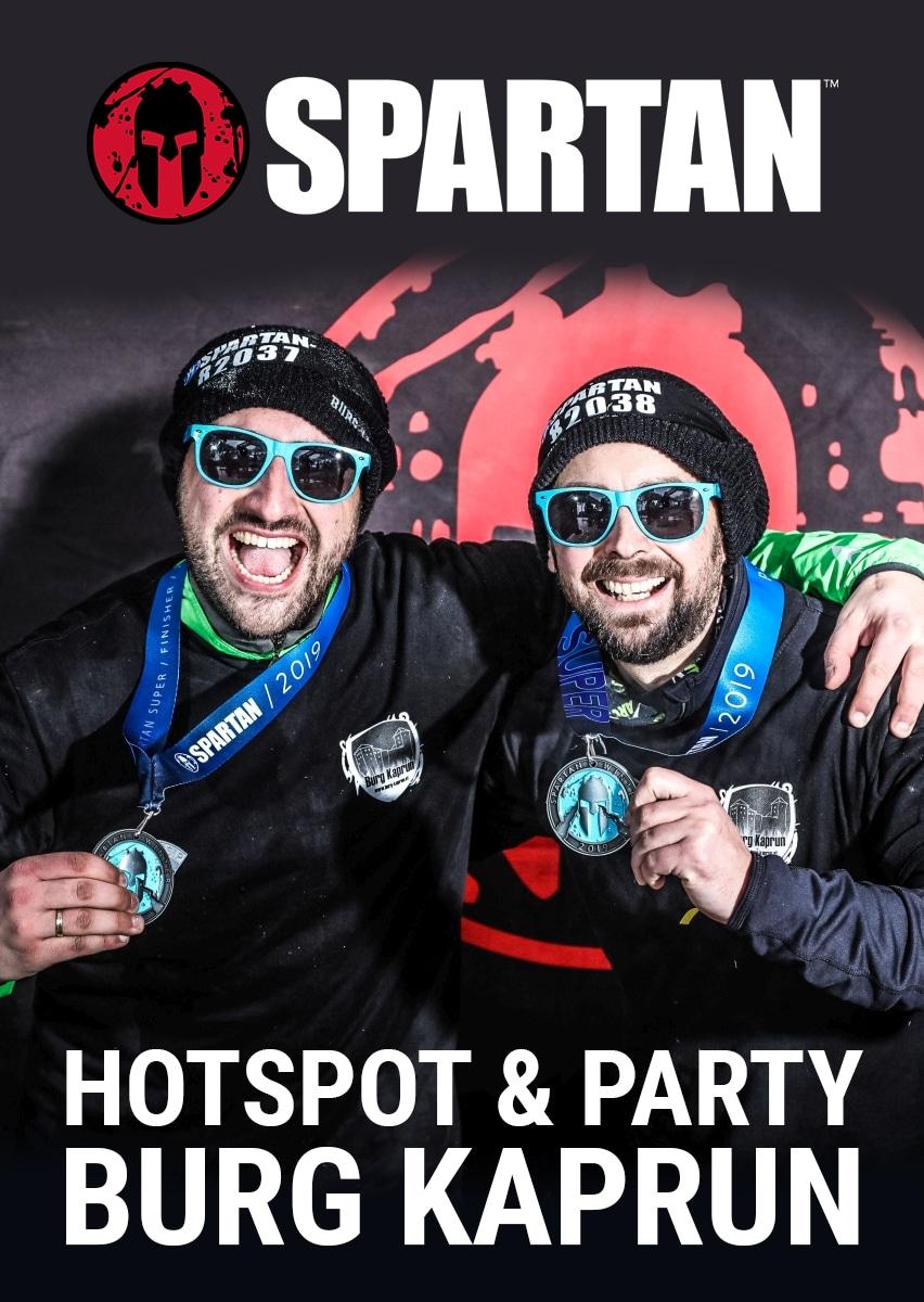 Winter Spartan Race - HOTSPOT & PARTY BURG KAPRUN