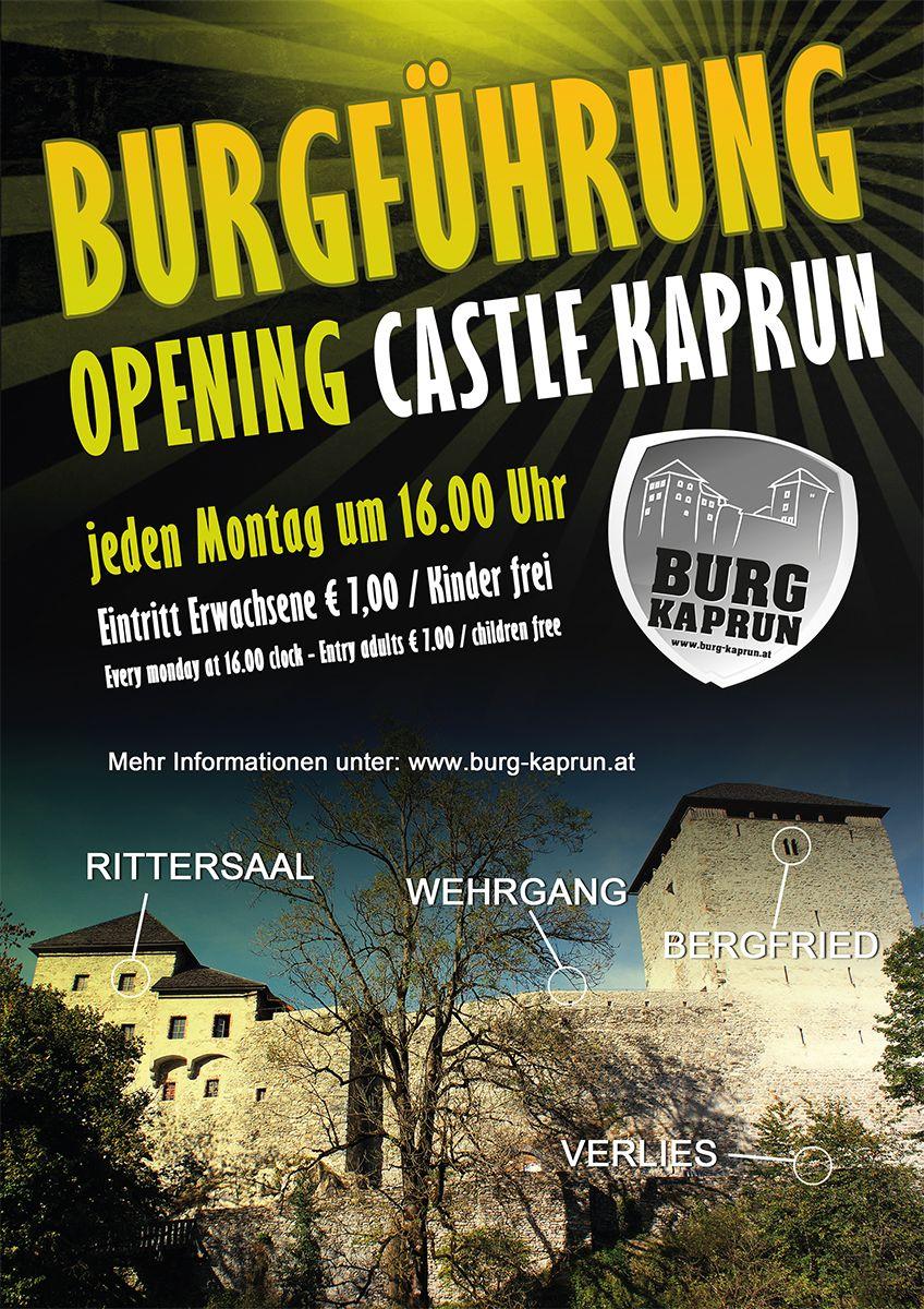 Burgführung - Opening Castle Kaprun