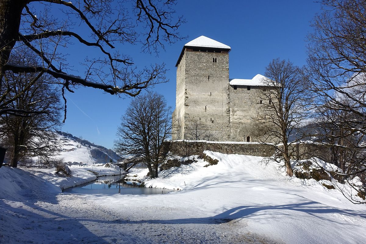 Burg Kaprun Winter © Bernhard Gritsch