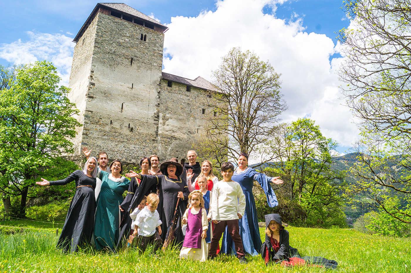 Das Burgfest Kaprun 2019