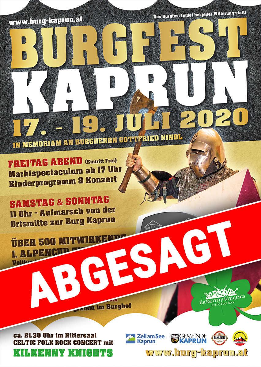 Burgfest Kaprun 2020