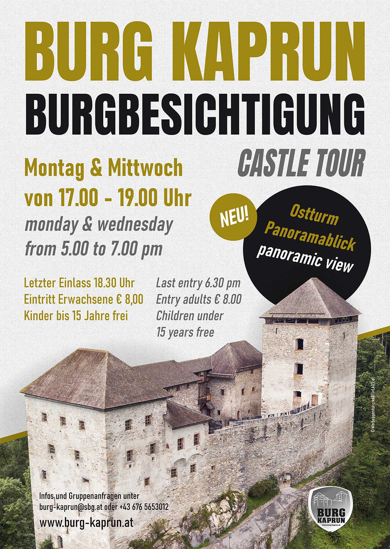 Burgbesichtigung / Castle Tour - Burg Kaprun