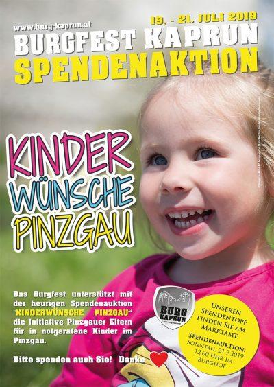 Sependenaktion Kinderwünsche Pinzgau